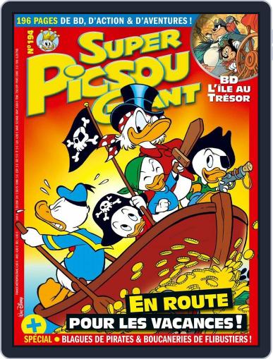 Super Picsou Géant (Digital) June 15th, 2016 Issue Cover