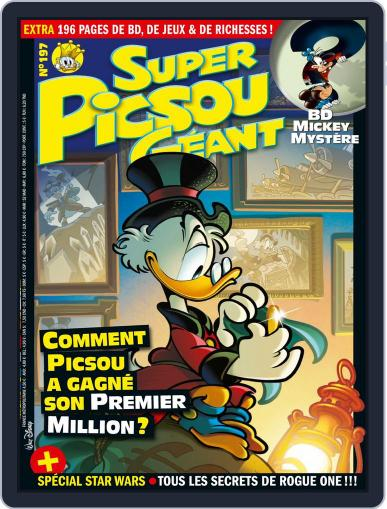 Super Picsou Géant (Digital) December 1st, 2016 Issue Cover