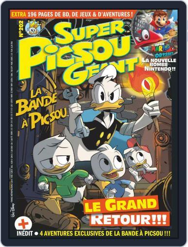 Super Picsou Géant (Digital) October 1st, 2017 Issue Cover