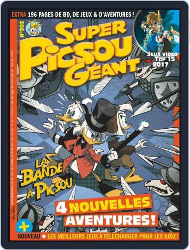 Super Picsou Géant (Digital) December 1st, 2017 Issue Cover