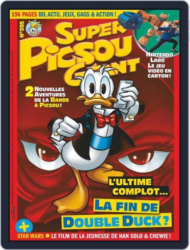 Super Picsou Géant (Digital) April 1st, 2018 Issue Cover