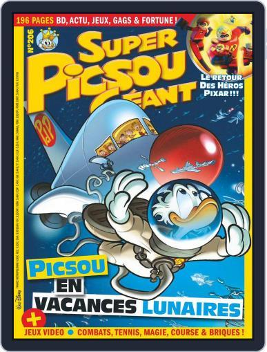 Super Picsou Géant (Digital) June 1st, 2018 Issue Cover
