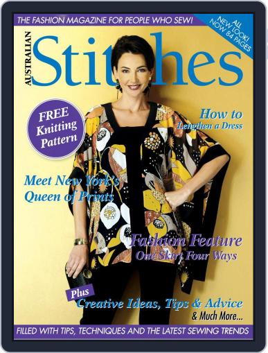 Australian Stitches (Digital) July 1st, 2017 Issue Cover