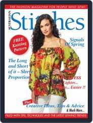 Australian Stitches (Digital) Subscription October 1st, 2017 Issue
