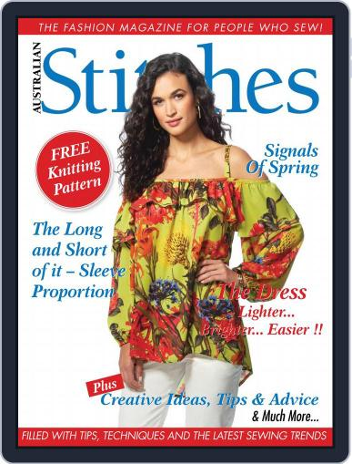 Australian Stitches (Digital) October 1st, 2017 Issue Cover