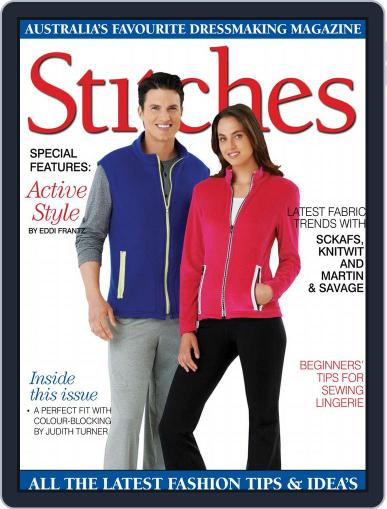 Australian Stitches (Digital) March 1st, 2018 Issue Cover