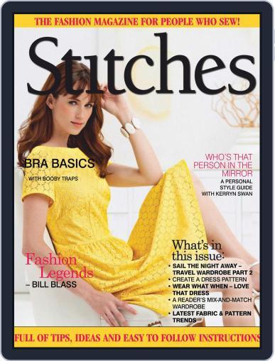 Australian Stitches (Digital) April 1st, 2019 Issue Cover