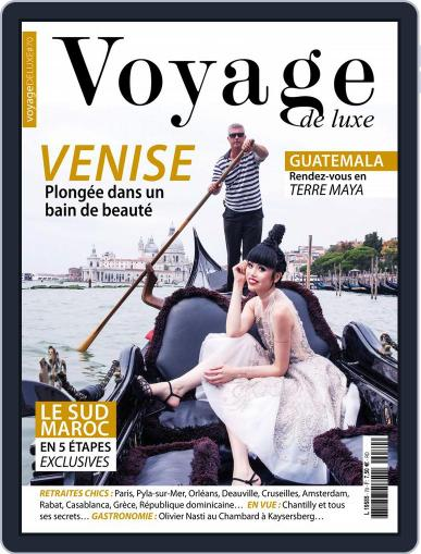 Voyage de Luxe October 1st, 2016 Digital Back Issue Cover