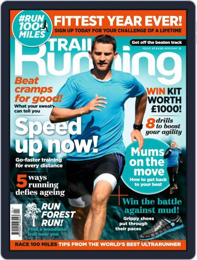 Trail Running April 1st, 2018 Digital Back Issue Cover
