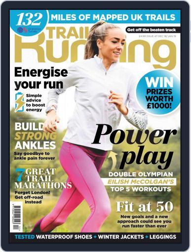 Trail Running December 1st, 2018 Digital Back Issue Cover