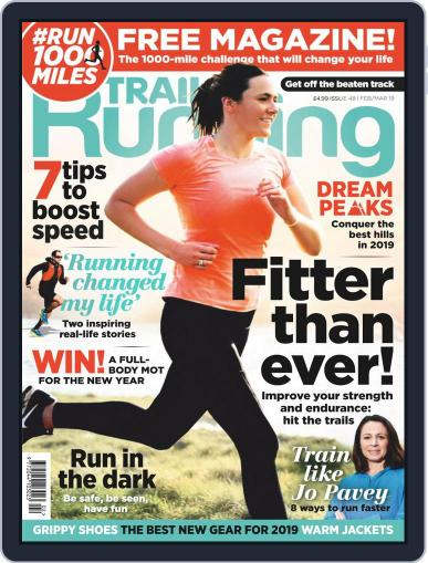 Trail Running February 1st, 2019 Digital Back Issue Cover