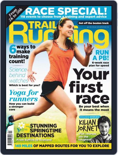 Trail Running April 1st, 2019 Digital Back Issue Cover