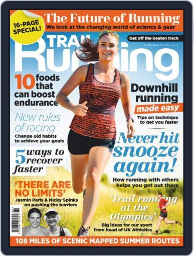 Trail Running June 1st, 2019 Digital Back Issue Cover