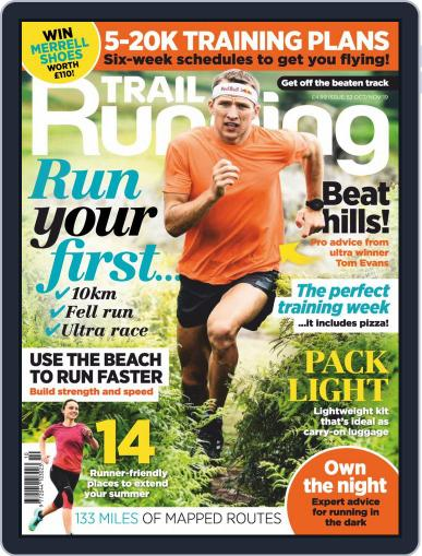 Trail Running October 1st, 2019 Digital Back Issue Cover