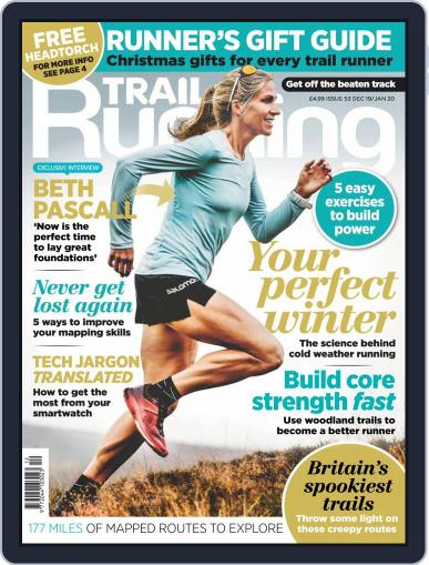 Trail Running December 1st, 2019 Digital Back Issue Cover