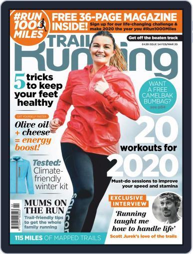 Trail Running February 1st, 2020 Digital Back Issue Cover