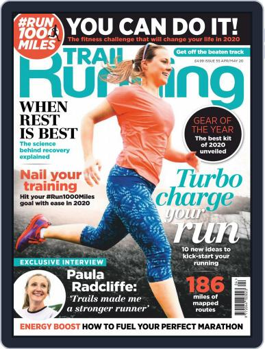 Trail Running April 1st, 2020 Digital Back Issue Cover