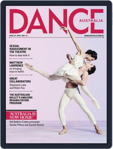 Dance Australia April 1st, 2018 Digital Back Issue Cover