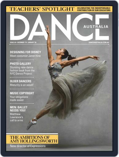 Dance Australia December 1st, 2019 Digital Back Issue Cover