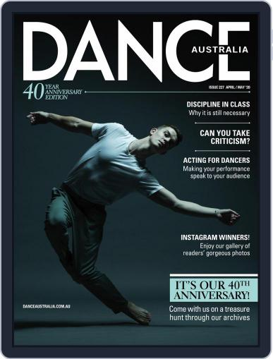 Dance Australia April 1st, 2020 Digital Back Issue Cover