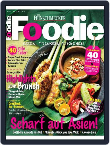 FOODIE May 1st, 2018 Digital Back Issue Cover