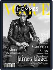 Vogue hommes English Version (Digital) Subscription March 18th, 2016 Issue