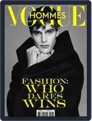 Vogue hommes English Version (Digital) Subscription January 1st, 2019 Issue
