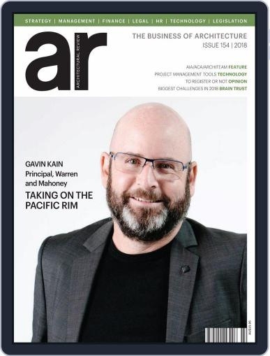 Architectural Review Asia Pacific (Digital) March 1st, 2018 Issue Cover