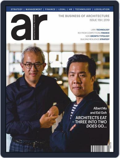 Architectural Review Asia Pacific (Digital) April 1st, 2019 Issue Cover