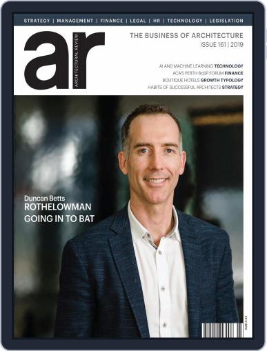 Architectural Review Asia Pacific (Digital) August 1st, 2019 Issue Cover