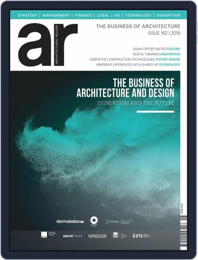 Architectural Review Asia Pacific (Digital) October 1st, 2019 Issue Cover