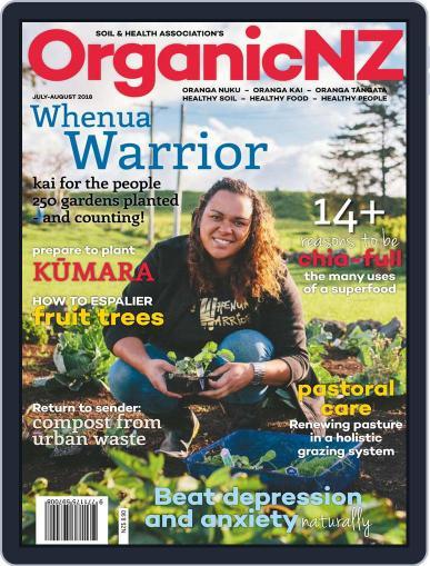 Organic NZ (Digital) July 1st, 2018 Issue Cover