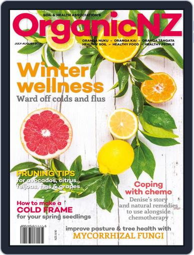 Organic NZ (Digital) July 1st, 2019 Issue Cover