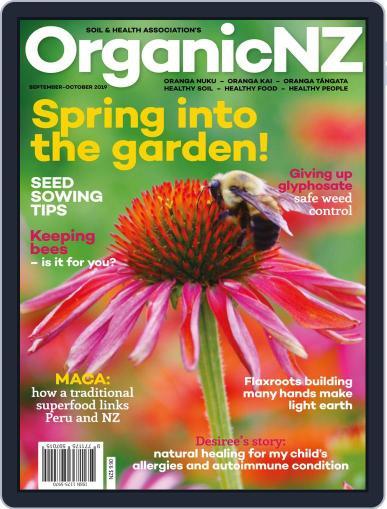 Organic NZ (Digital) September 1st, 2019 Issue Cover