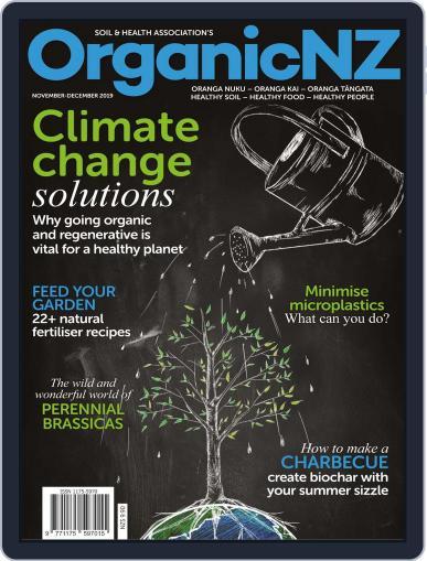 Organic NZ (Digital) November 1st, 2019 Issue Cover