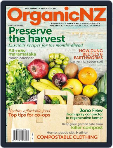 Organic NZ (Digital) March 1st, 2020 Issue Cover