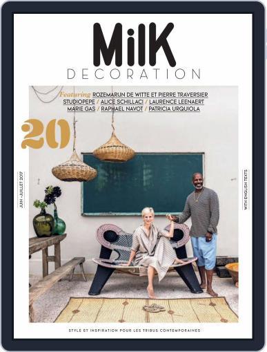 Milk Decoration (Digital) June 1st, 2017 Issue Cover