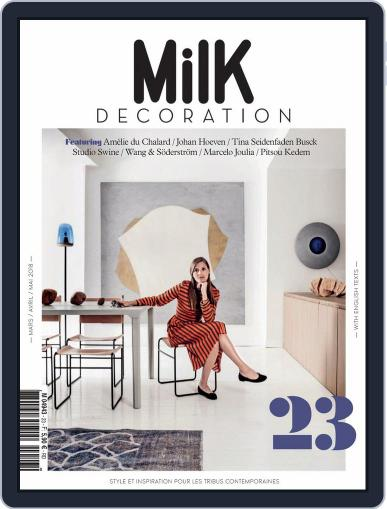 Milk Decoration (Digital) March 1st, 2018 Issue Cover