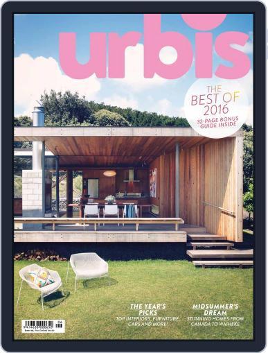 Urbis (Digital) December 1st, 2016 Issue Cover