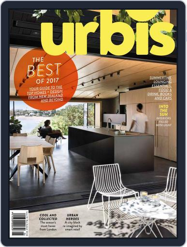 Urbis (Digital) December 1st, 2017 Issue Cover