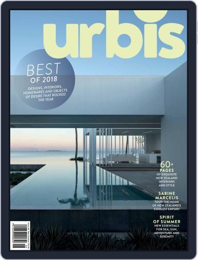 Urbis (Digital) December 1st, 2018 Issue Cover