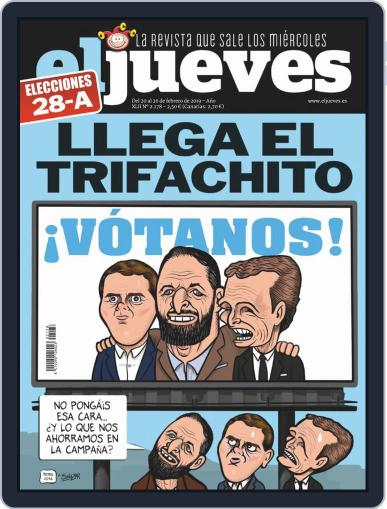 El Jueves (Digital) February 20th, 2019 Issue Cover