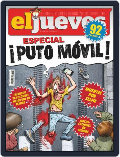 El Jueves (Digital) February 26th, 2019 Issue Cover