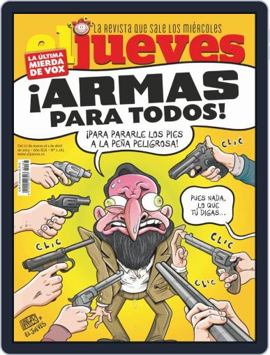 El Jueves (Digital) March 27th, 2019 Issue Cover