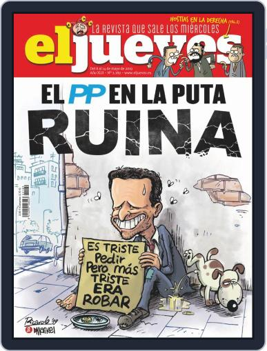 El Jueves (Digital) May 8th, 2019 Issue Cover