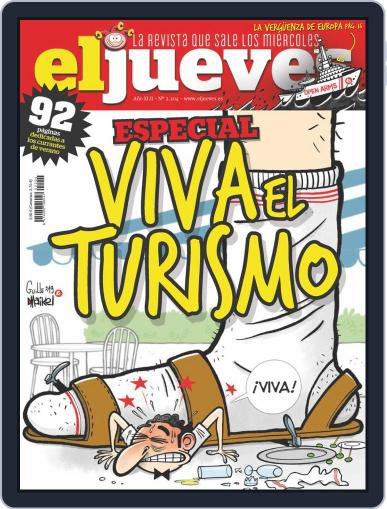 El Jueves (Digital) August 20th, 2019 Issue Cover