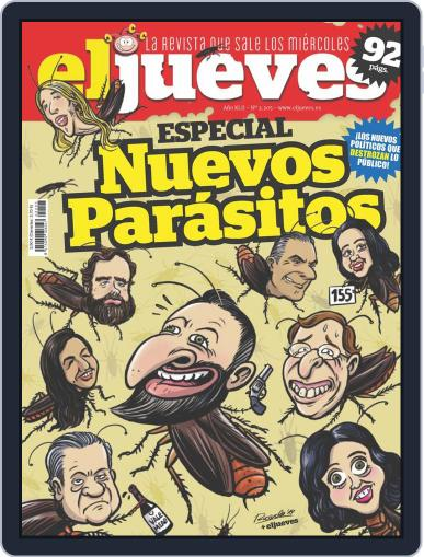 El Jueves (Digital) August 27th, 2019 Issue Cover