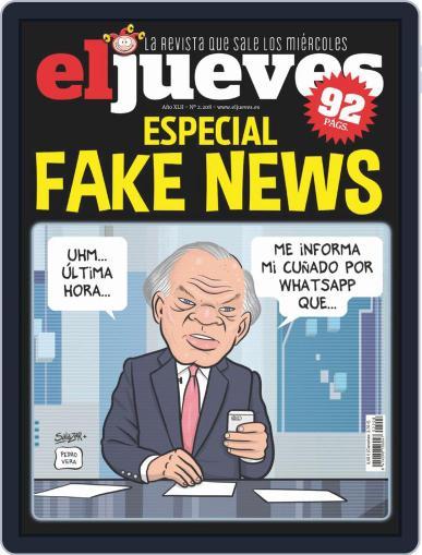 El Jueves (Digital) September 17th, 2019 Issue Cover