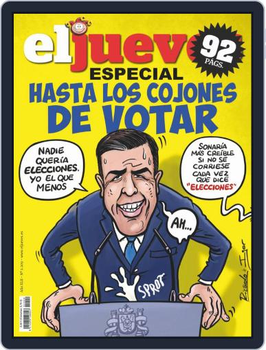 El Jueves (Digital) September 24th, 2019 Issue Cover