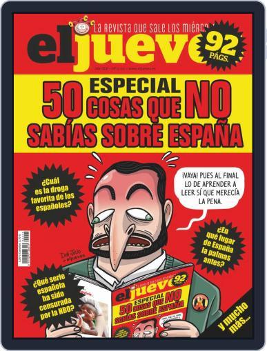 El Jueves (Digital) October 8th, 2019 Issue Cover